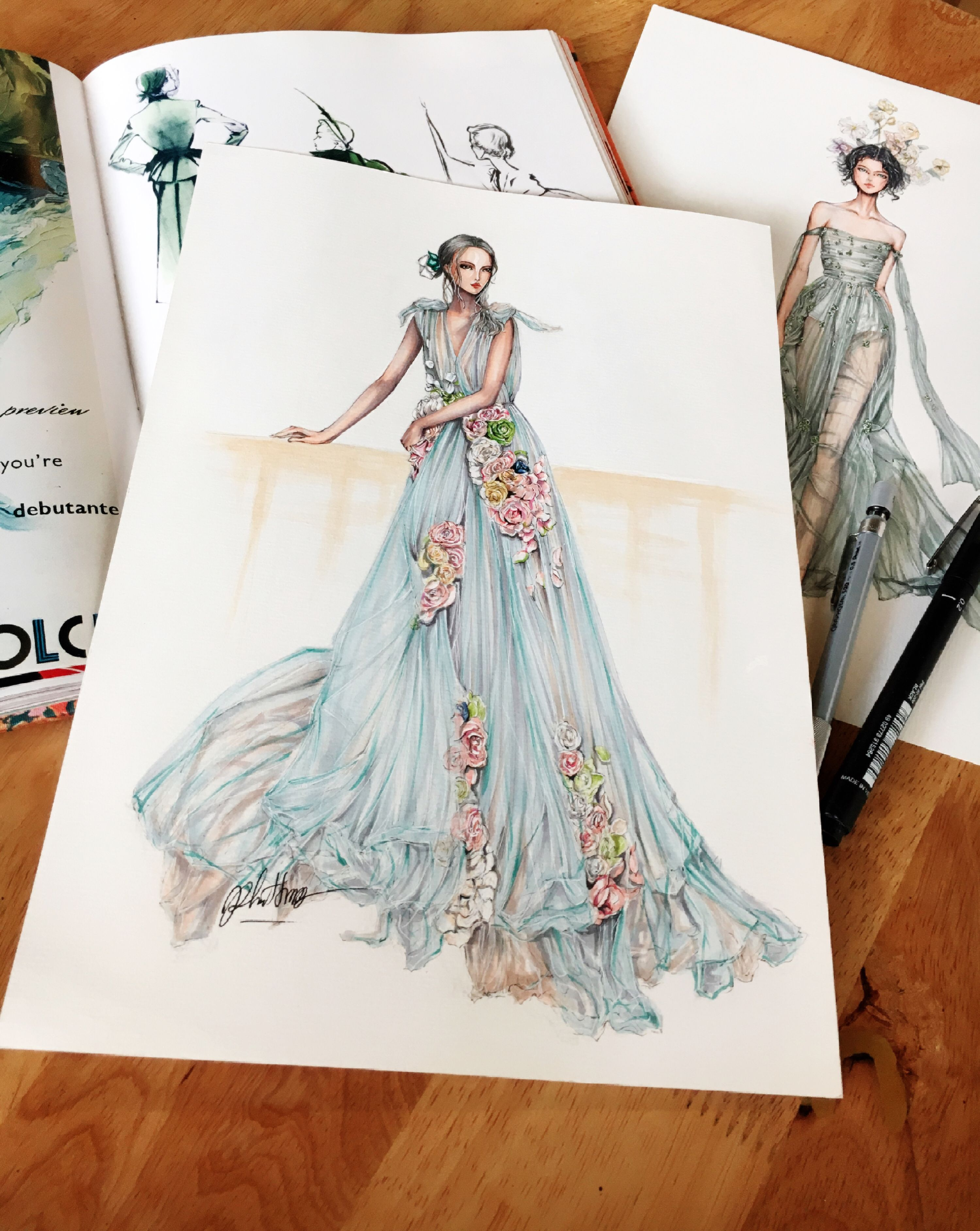 @aljell fashion illustration  ◇F&I◇