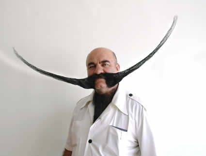 Weird Moustache Photos 1