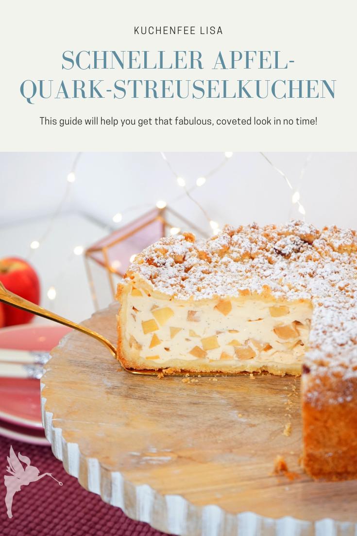 Apfel Quark Streuselkuchen