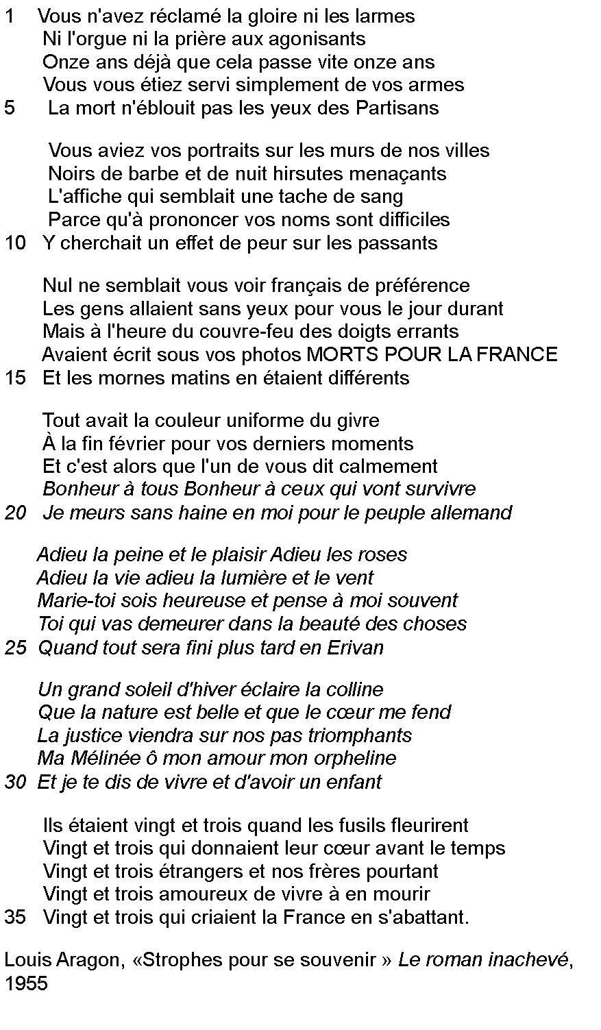 Louis Aragon Surréalisme Littéraire Poeme Et Citation