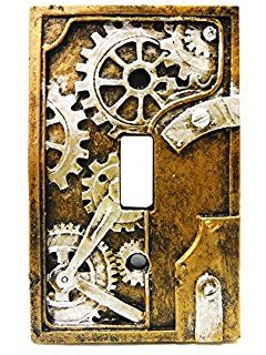 Amazon.com: Frankenstein Style Switch Plate Cover - Kids Room ...