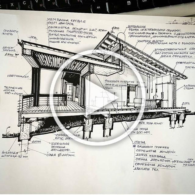 _ • TAG YOUR ARCHITECTURE FRIENDS TO SEE THS .. I Like it ? by @stasarchitector 👌 . #architecture #scetch #arquitectura #sketch #design #elevation #art . • Follow @arch_cad for more daily sketchs . #sketchbook ✏❤📏