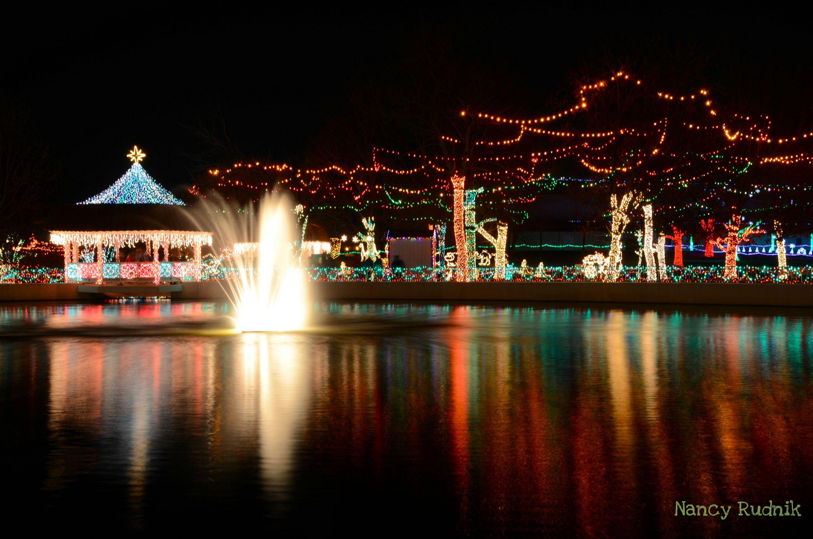christmas lights display in tulsa oklahoma december 2011 - Christmas Lights Tulsa