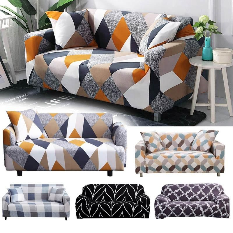 Stretchable Elastic Sofa Cover In 2020 Couch Covers Couches Living Room Sofa Covers