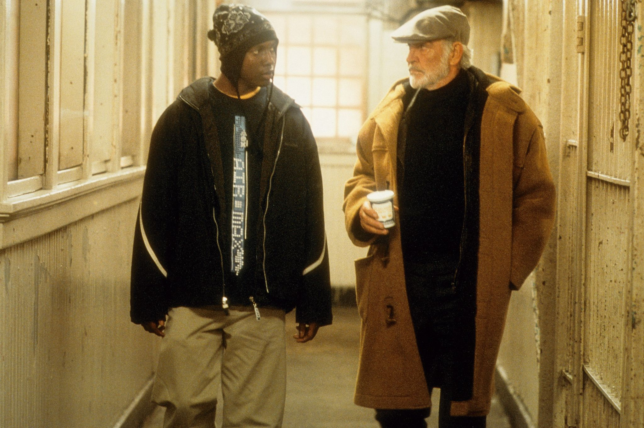"""Finding Forrester"" movie still, 2000. L to R Rob Brown"