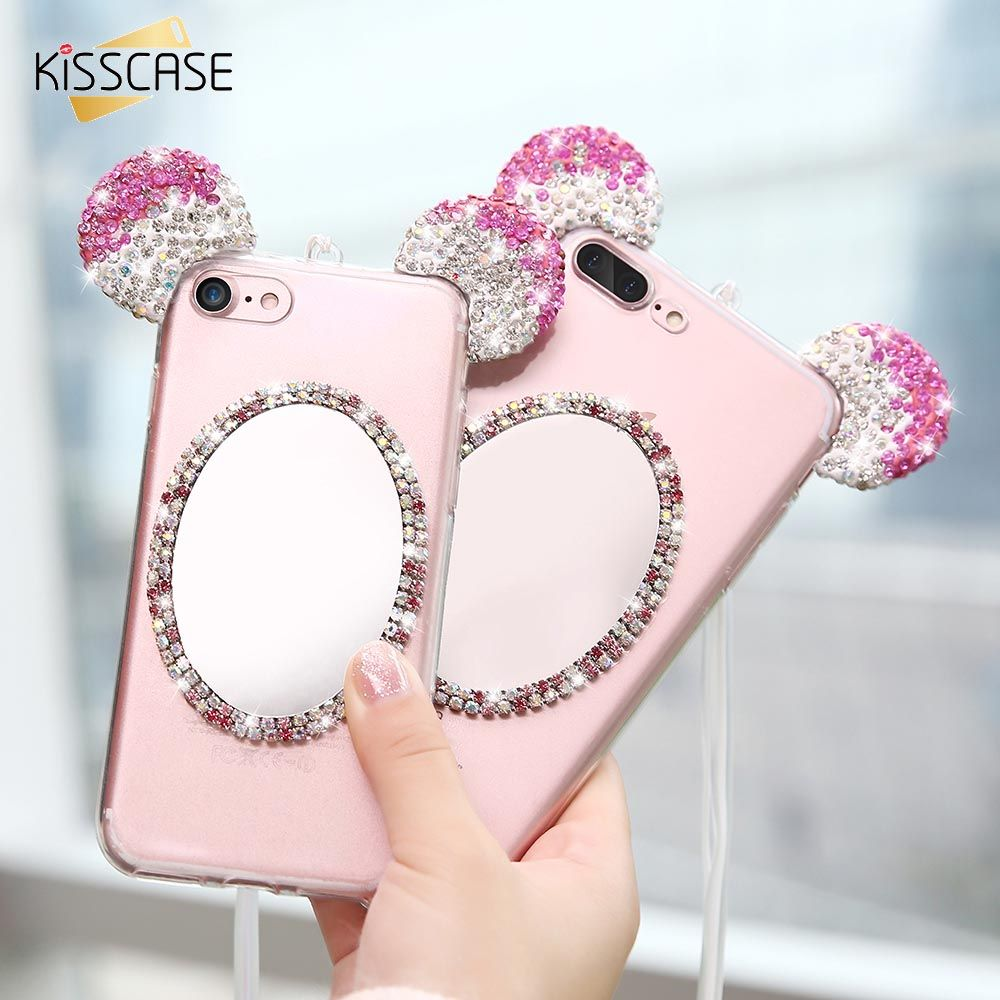 Click to buy ucuc kisscase cute girly case for iphone s plus