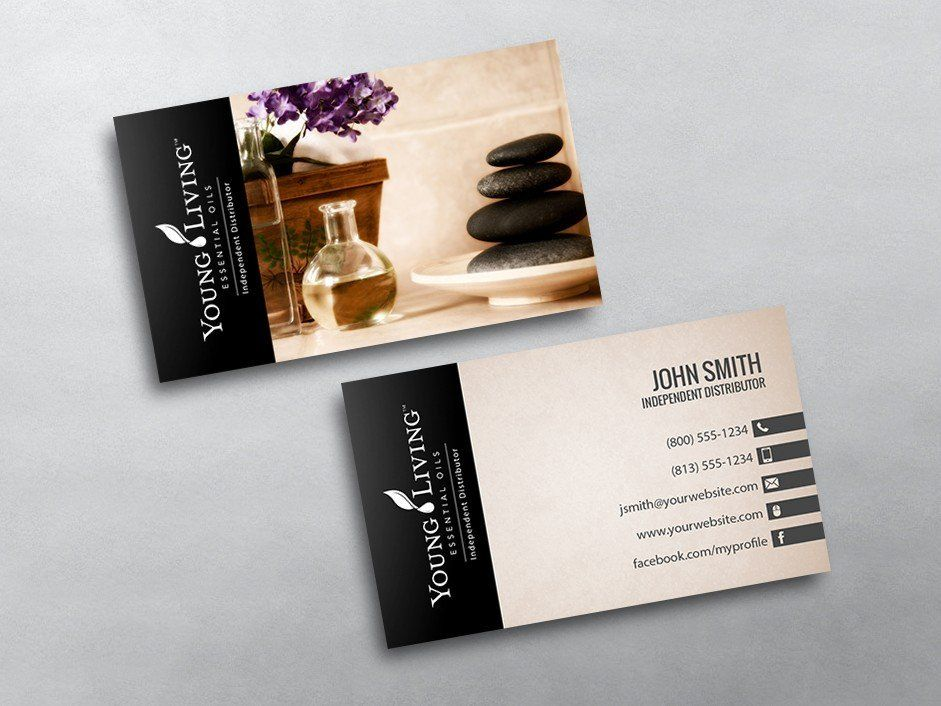 Young Living Business Card Template Young Living Business Cards Young Living Business Cards Templates Young Living Business Cards Young Living Business