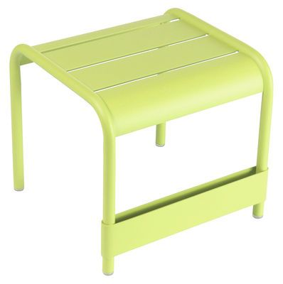 Fermob Luxembourg End Table Green Made In Design Uk Low Tables Ottoman Table Fermob