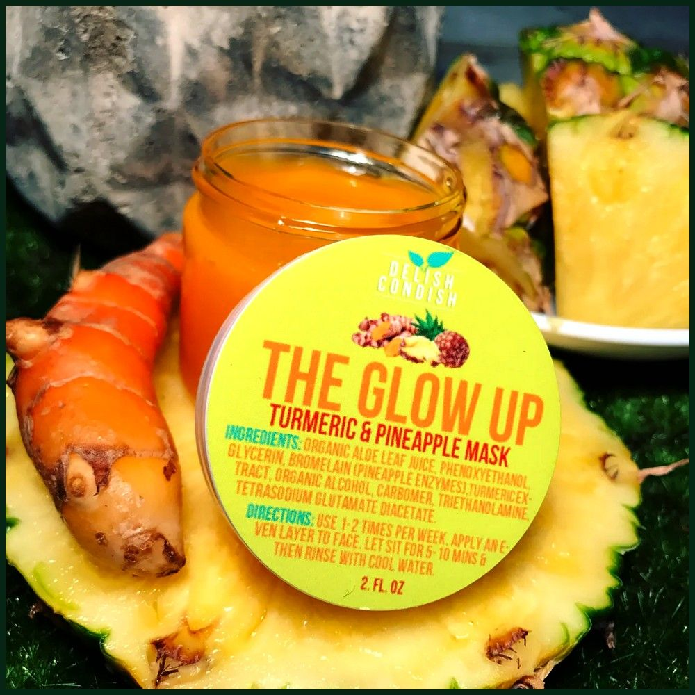GLOW UP TURMERIC  PINEAPPLE MASK THE GLOW UP TURMERIC  PINEAPPLE MASKTHE GLOW UP TURMERIC  PINEAPPLE MASK DOMINOThe Best Snacks to Make and Pack for a Road Trip Get clear...