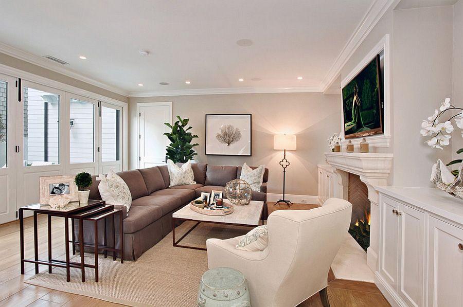 colore pareti soggiorno idee per cambiare stile shabby On soggiorno classico elegante