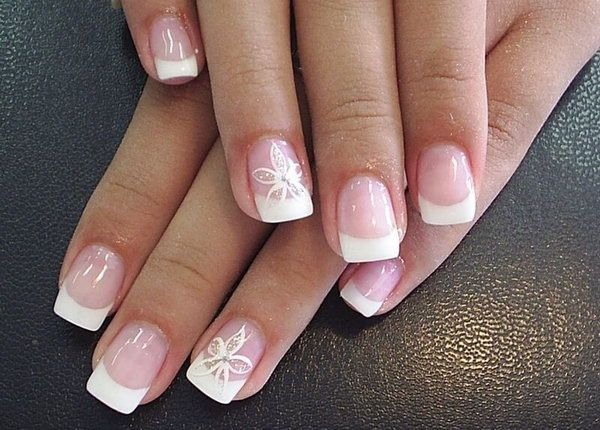 Manicure Awesome Nail Designs For Spring French