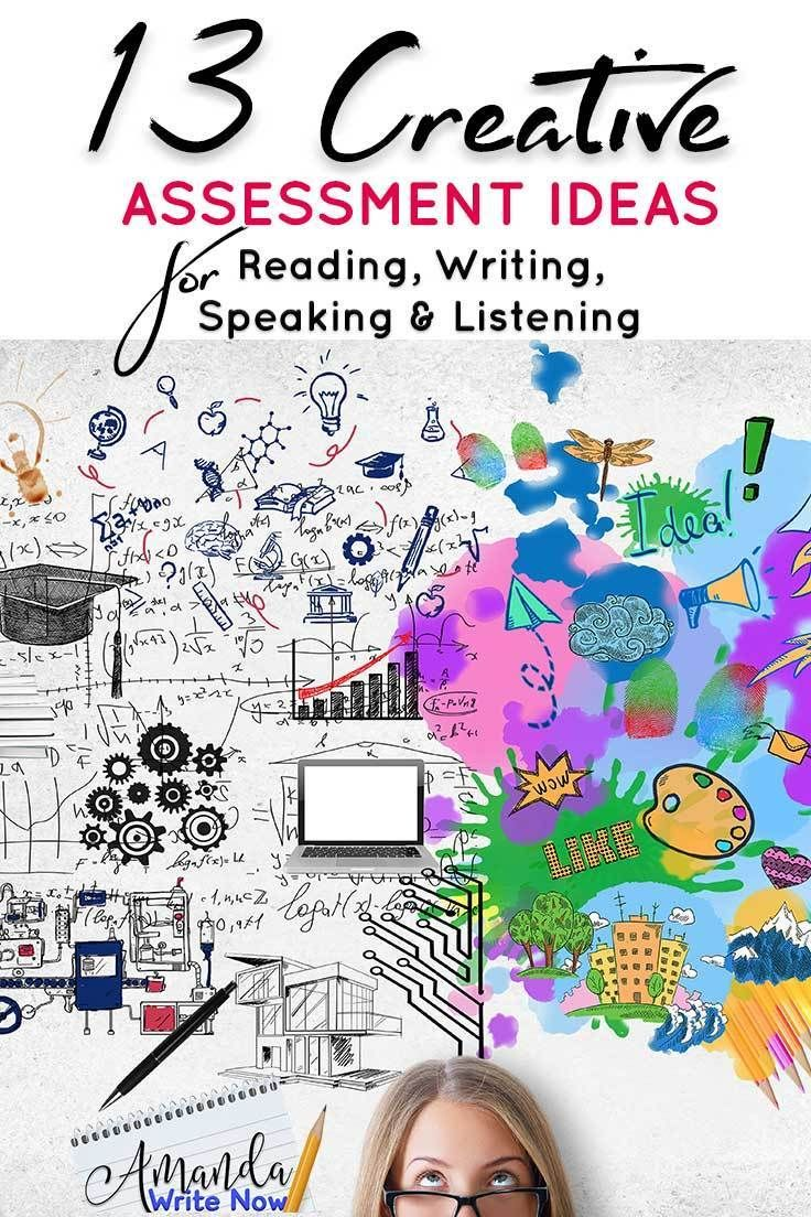 13 Creative Assessment Ideas for Reading, Writing, Speaking