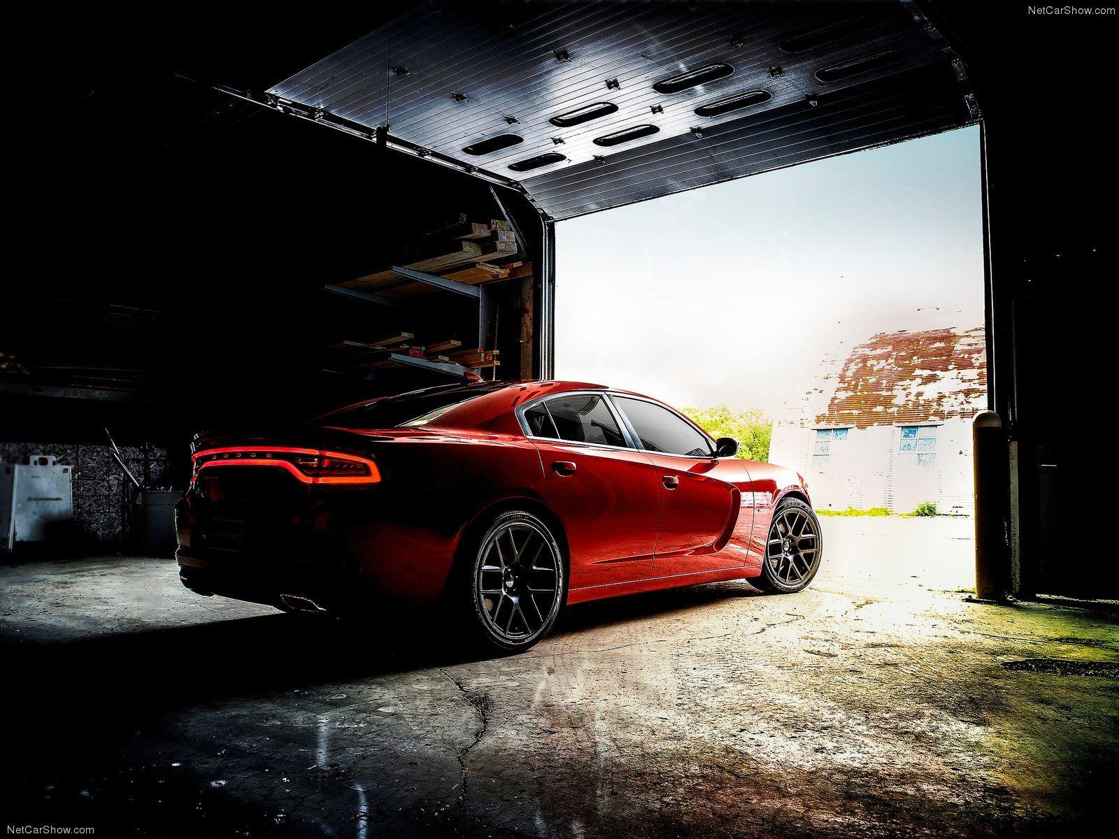 Imagem sensacional do novo Dodge Charger. (Fonte: Netcarshow)