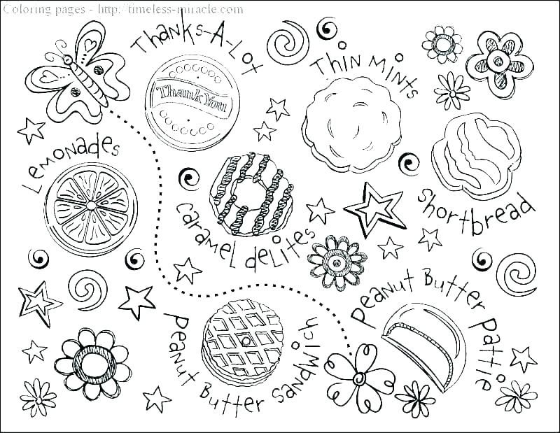 Girl Scout Coloring Pages For Brownies - Coloring Home | 619x800
