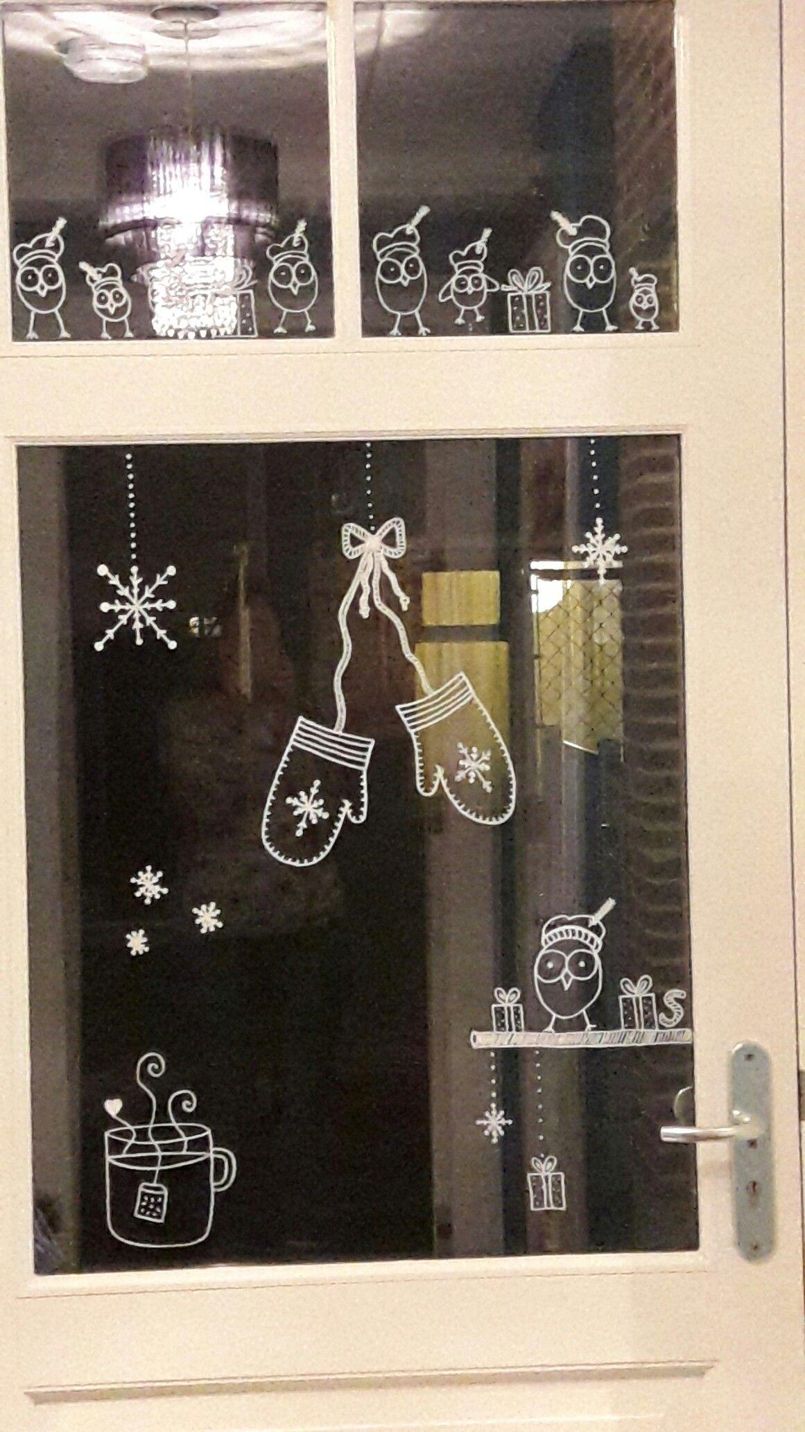 Extreem Raamdecoratie krijtstift - winter/sinterklaas | To Do-Doos YS39