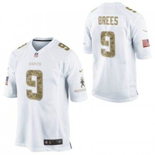 Saints Men s Drew Brees Salute to Service Game Jersey by Nike ... ab4145d32