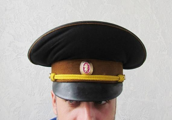 e95805eed42 Military gift Vintage Military Hat Vintage Military Cap Soviet Army Cap  soldier hat Military collect