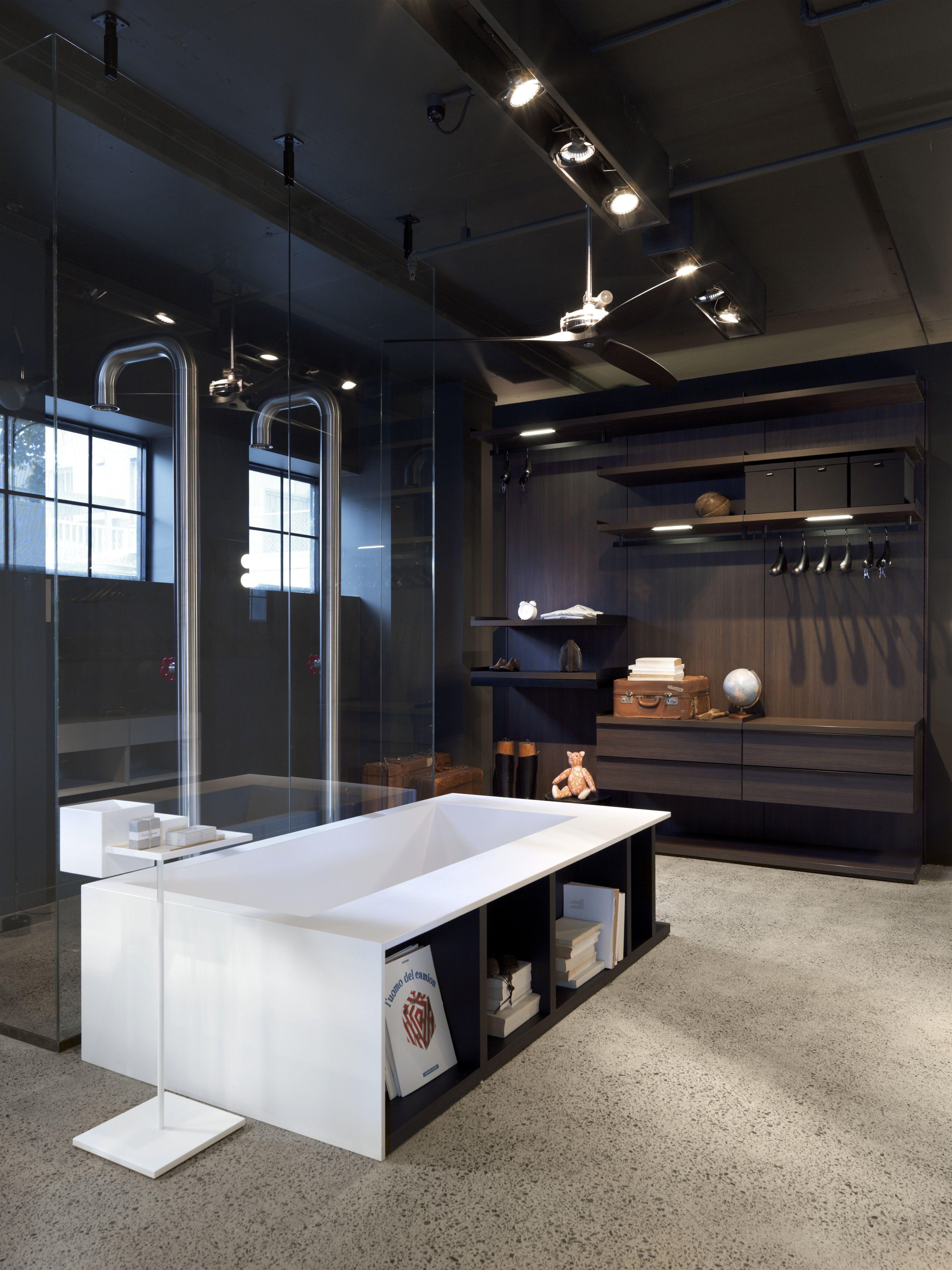 boffi swim c bath pipe freestanding shower minimal air. Black Bedroom Furniture Sets. Home Design Ideas