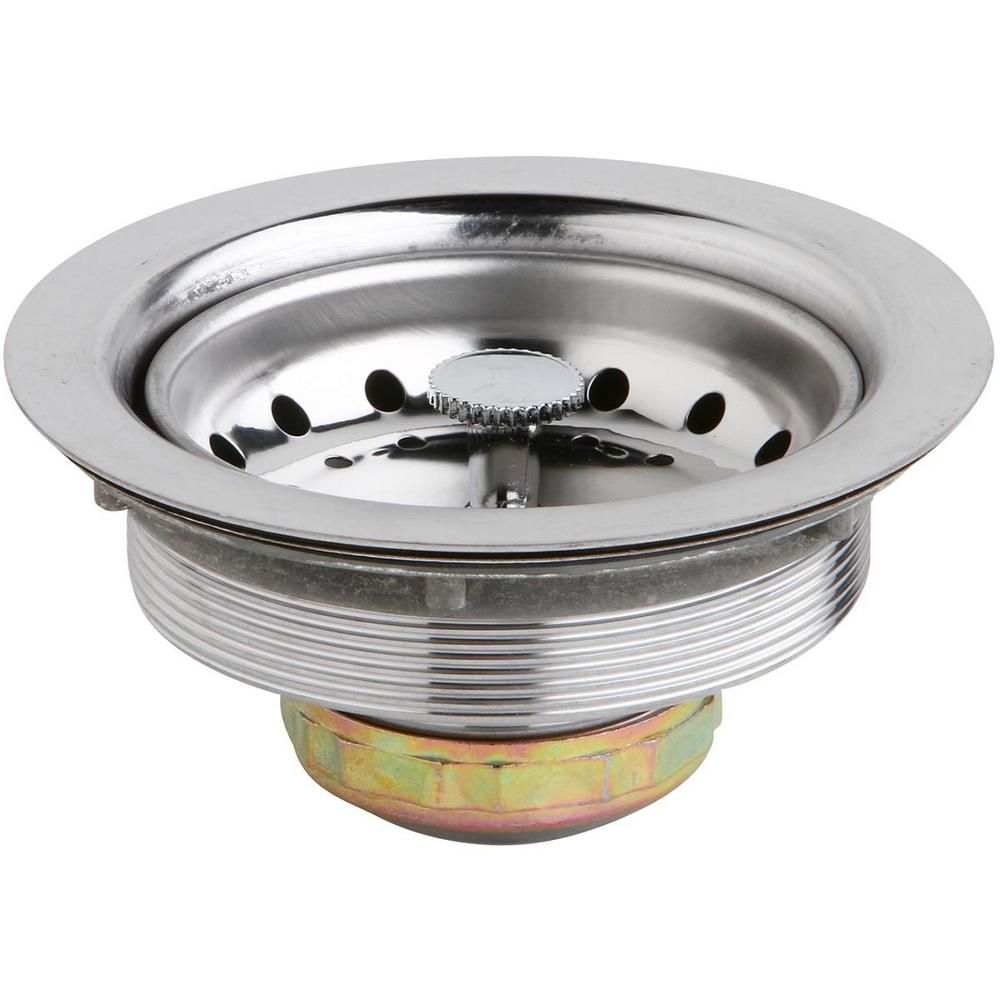 Elkay 3 5 In Kitchen Sink Drain With Removable Basket Strainer
