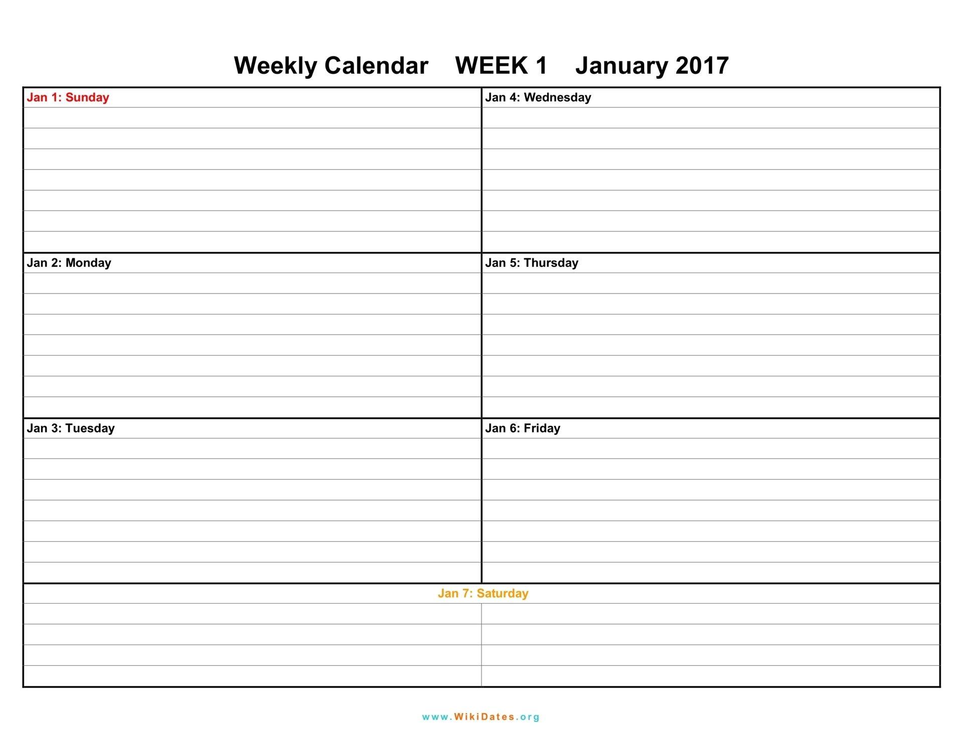 Printable Weekly Calendar 2018 Printable Weekly Calendar With 15 Minute Time Slots Erdferdf Blank Weekly Calendar Weekly Calendar Template Weekly Calendar