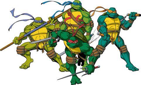 2003 Tmnt Donnie Leo Mikey Raph Tmnt Teenage Mutant Ninja