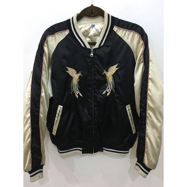 On Sale Vintage 80s Sukajan Yakuza Japanese Golden Phoenix Japanese ($94)