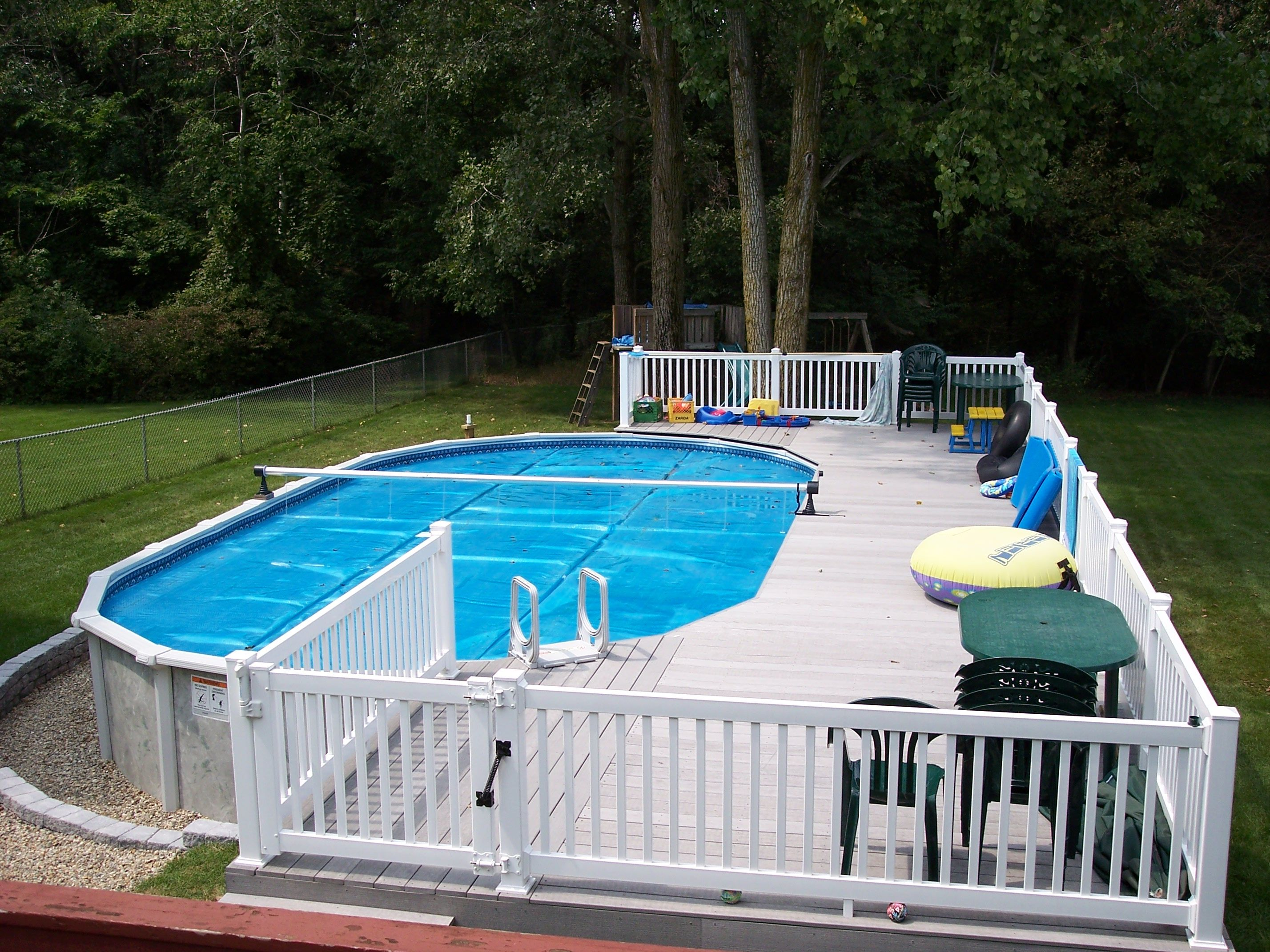 Economical versions for backyard fun. Swimming pools