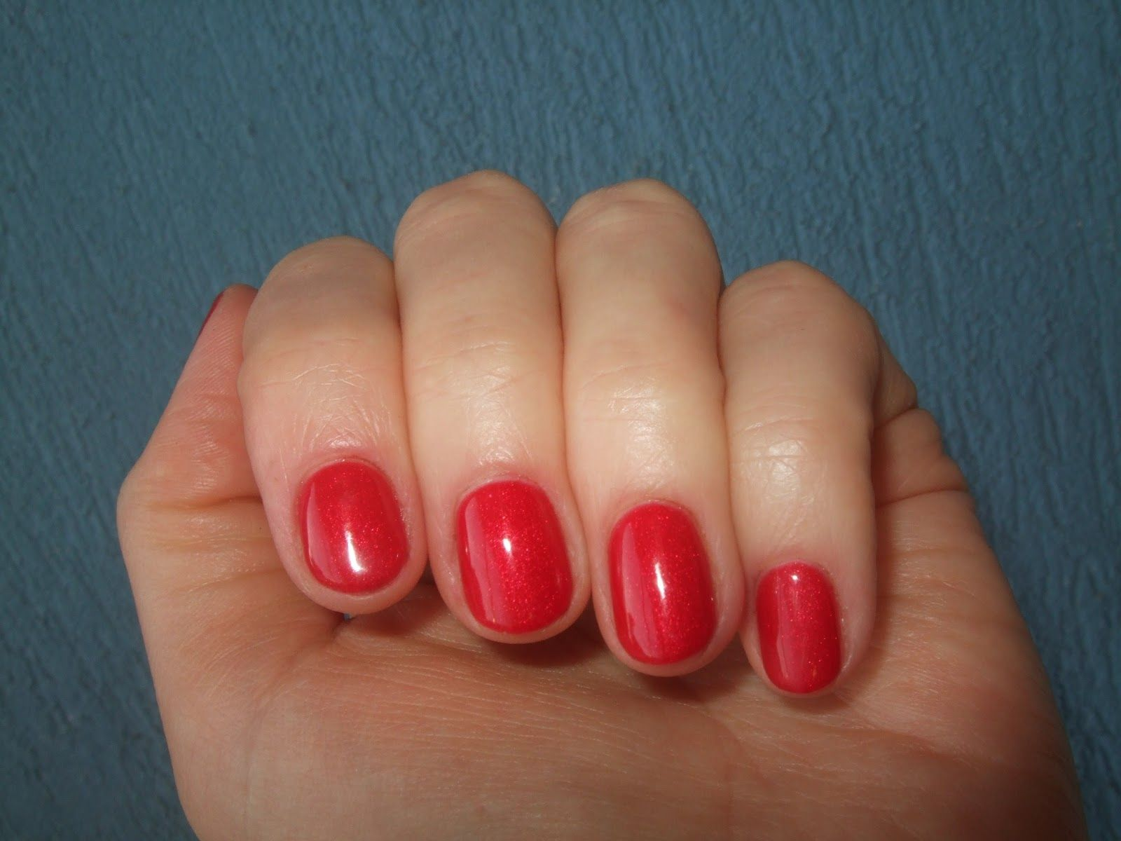 Ezflow Trugel in Racy Red | Nails | Pinterest