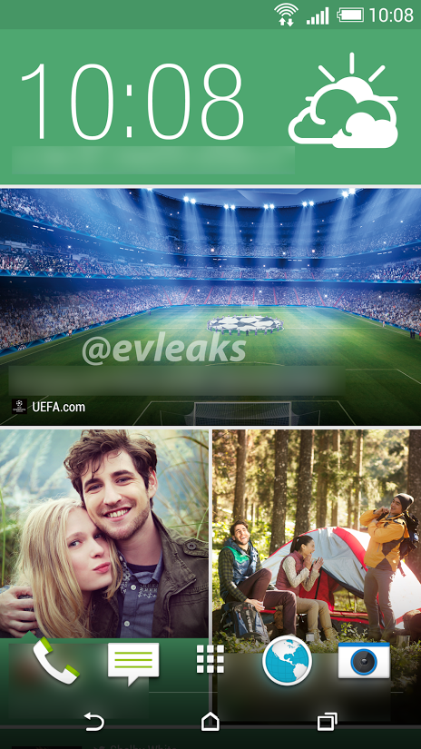 Evleaks Posts New Screenshot From The Htc M8 Showing Blinkfeed And On Screen Buttons Handyvertrag Handys Vertrag