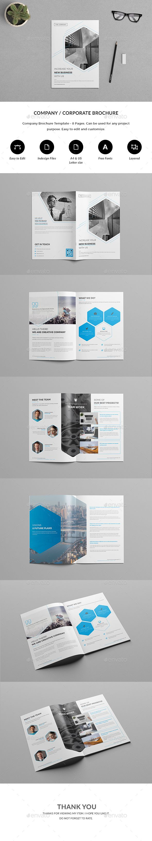 Page CompanyCorporate Brochure Corporate Brochure Brochures - Corporate brochure template