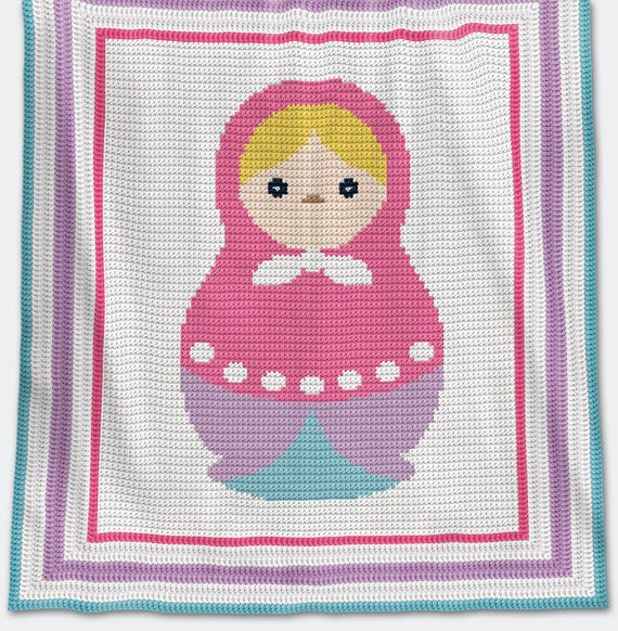 Crochet Baby Blanket Afghan Pattern This Pattern Is In English