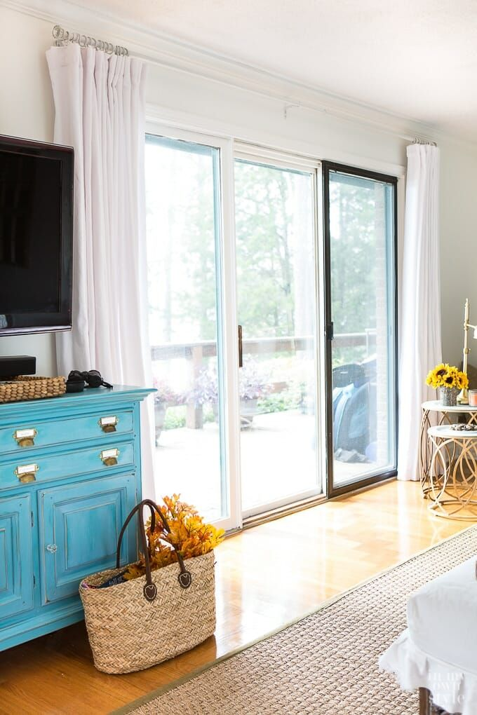 How to Make Extra Wide Drapes for Sliding Glass Doors in