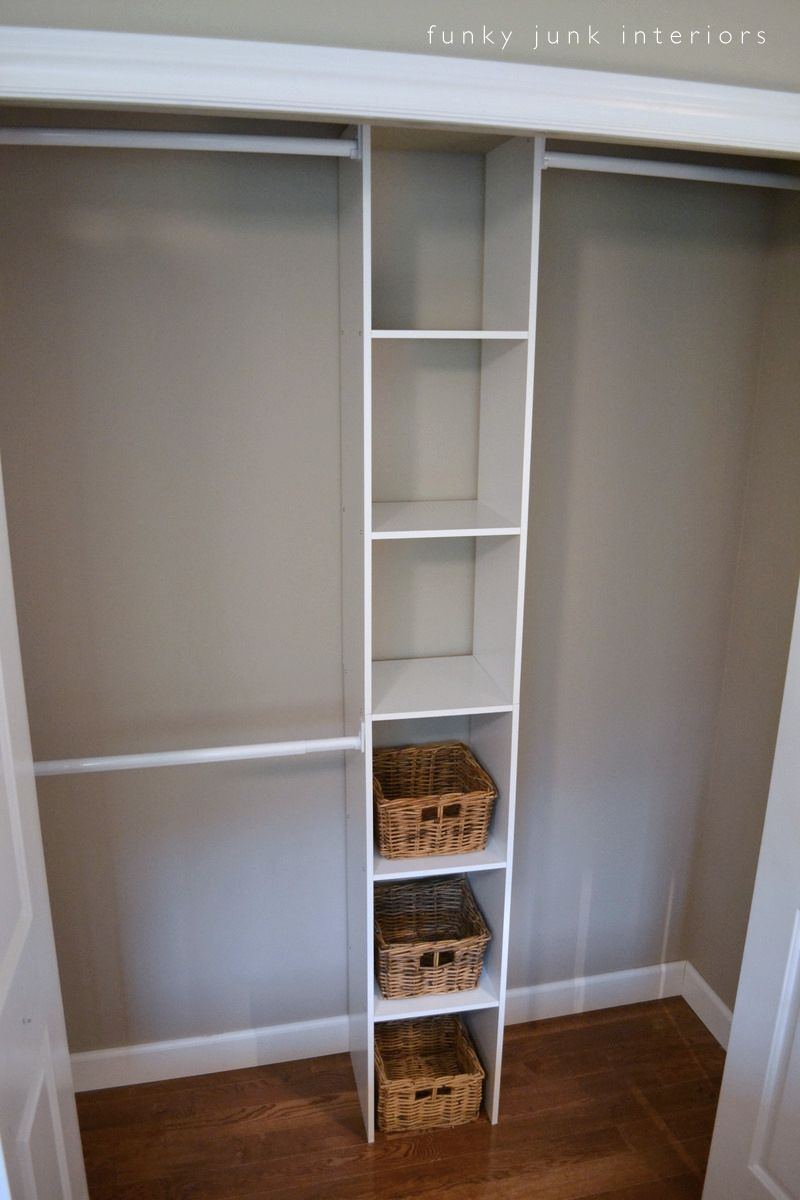 How To Build An Easy Clothes Closet From A 50 Kit