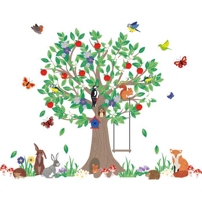 Jojo maman bébé woodland tree wall decal reviews wayfair