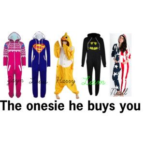 The onesie he buys you