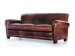 Enjoyable Havana Leather Sofa By Moroni 614 Distressed Leather I Machost Co Dining Chair Design Ideas Machostcouk