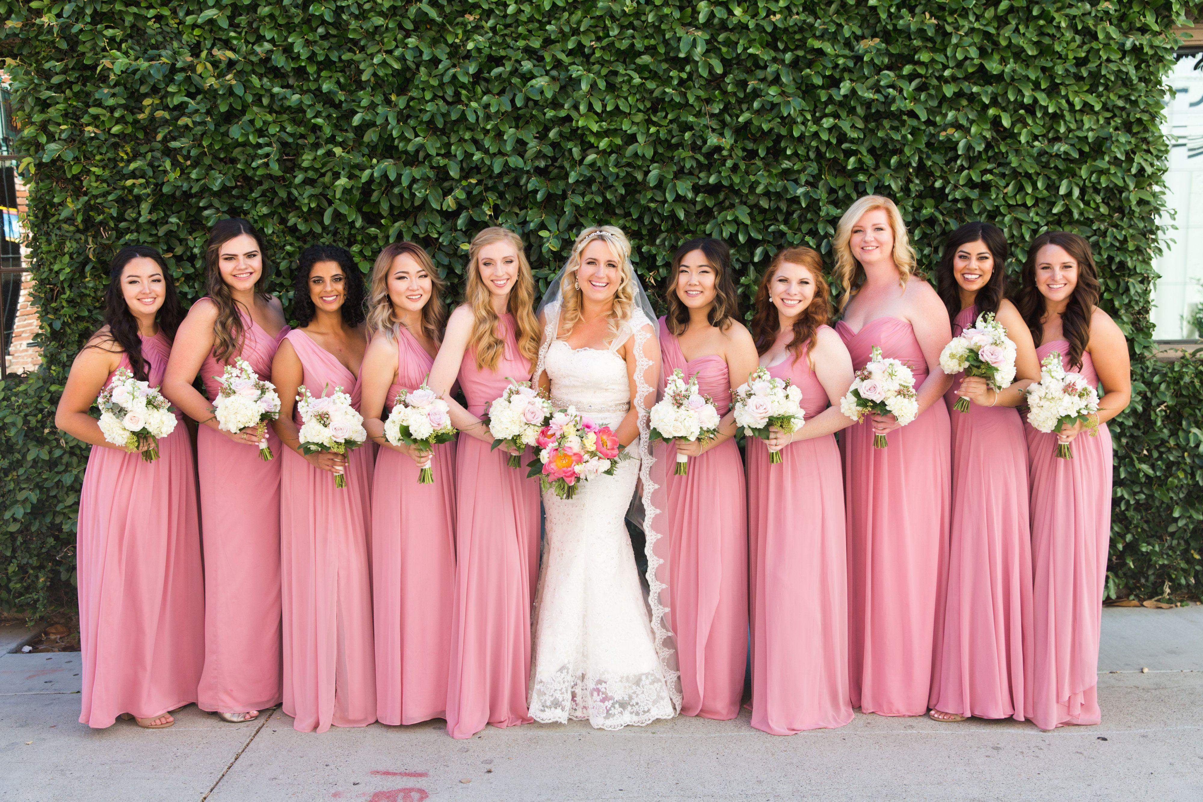 Dessy #carnation #bellabridesmaids #bridesmaids #dresses #wedding ...