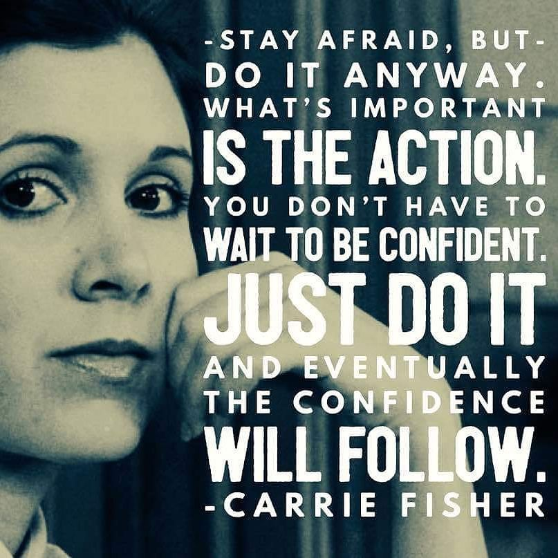 #carriefisher we will miss you.