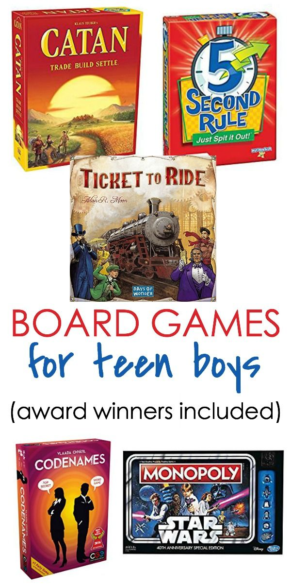 Our Best Board Games for Teen Boys | {Blog} WrittenReality