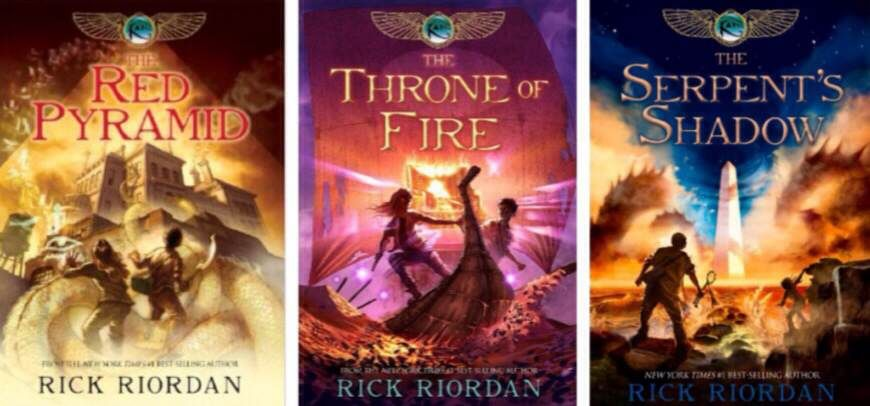 The Kane chronicles is a great trilogy written by the author of Percy Jackson.