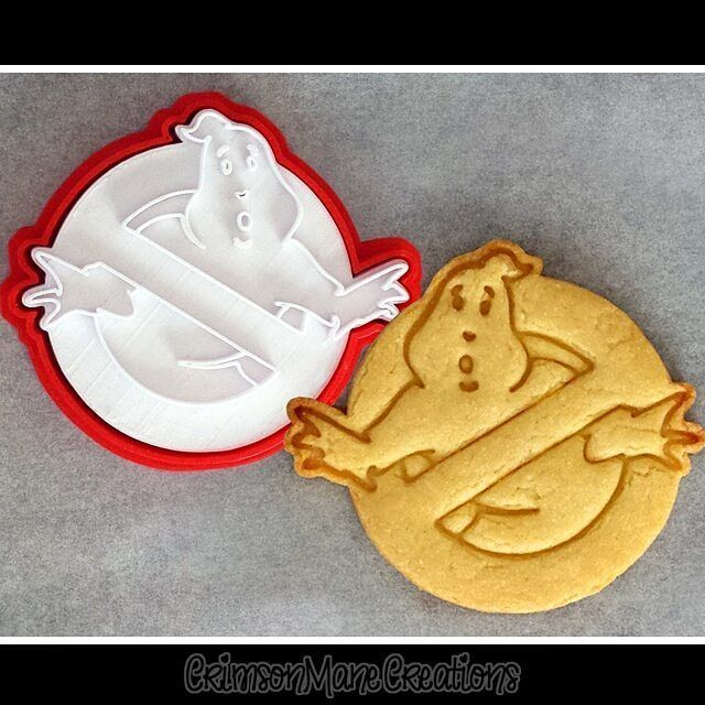 Ghostbusters cookie cutters now available from our Etsy shop! :D #ghostbusters #ghostbusterslogo #cookiecutter #3dprinting #cookie #bakingcrazy #bakingideas #geekgifts #crimsonmanecreations #ilovecookies #cookielovers #nerdstuff #creativebaking #retro #80s #80smovies #cookiecutters #whoyougonnacall #nostalgia by crimson_mane_creations #deguisementfantomeenfant Ghostbusters cookie cutters now available from our Etsy shop! :D #ghostbusters #ghostbusterslogo #cookiecutter #3dprinting #cookie #bakin #deguisementfantomeenfant