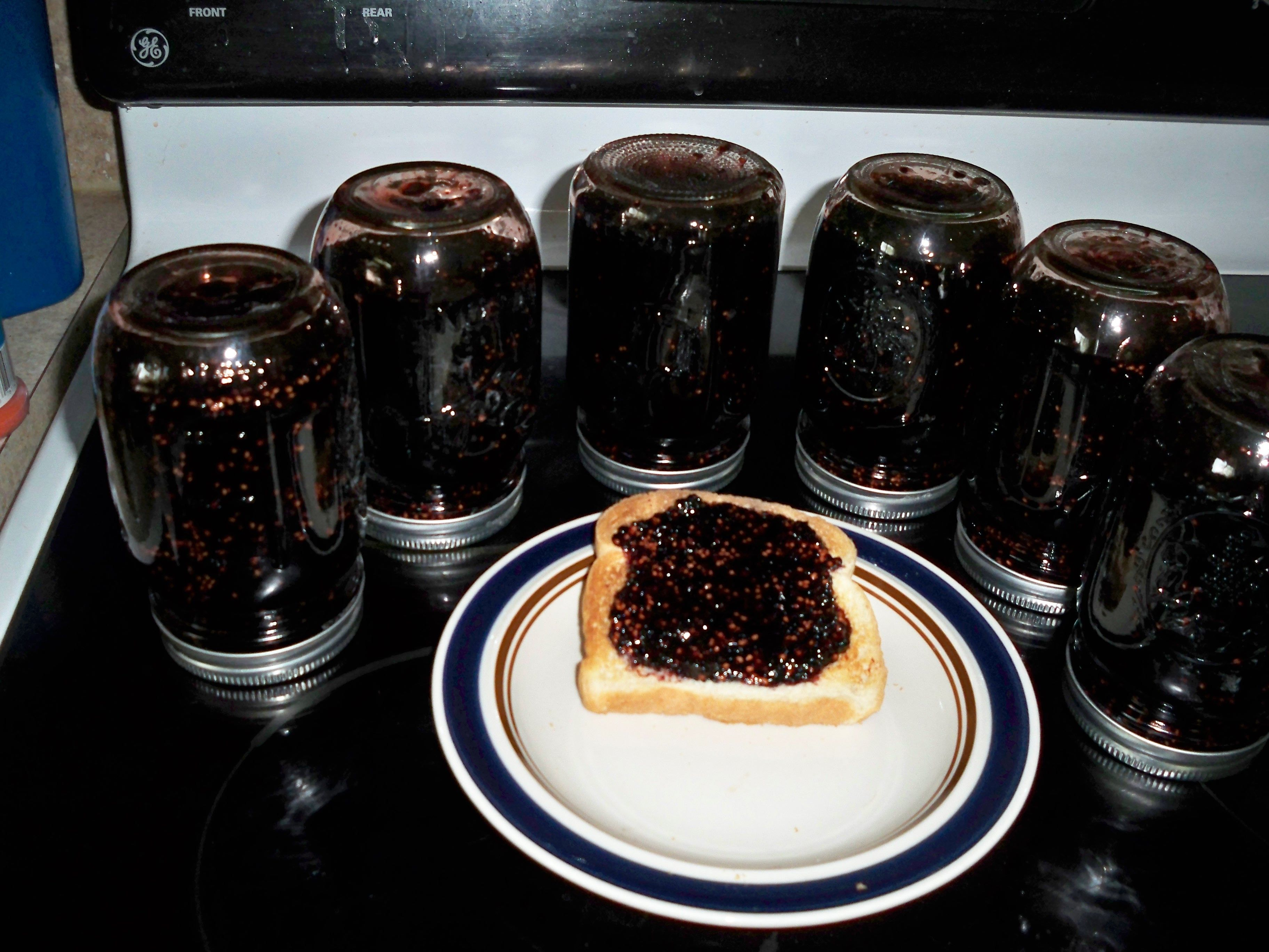 Mulberry Jam | Cooking | Pinterest