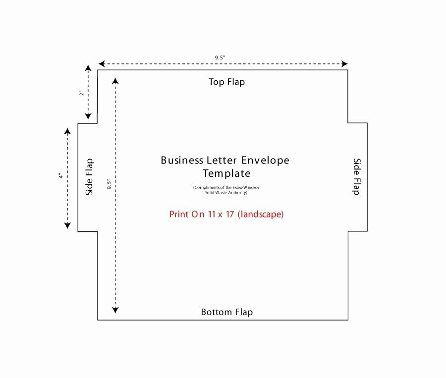 Microsoft Word Envelope Template Awesome 40 Free Envelope