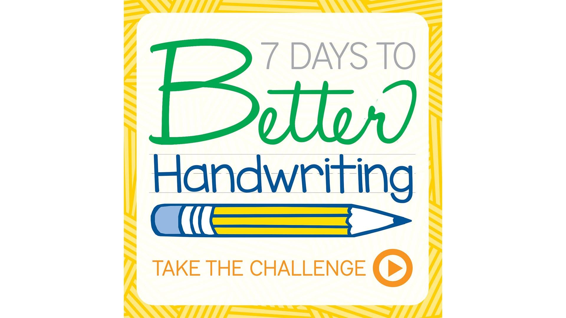 Back To School 7 Days To Better Handwriting
