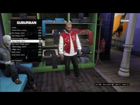 GTA 5 Gameplay Franklin Brand New Clothes RICK ROSS (Grand Theft