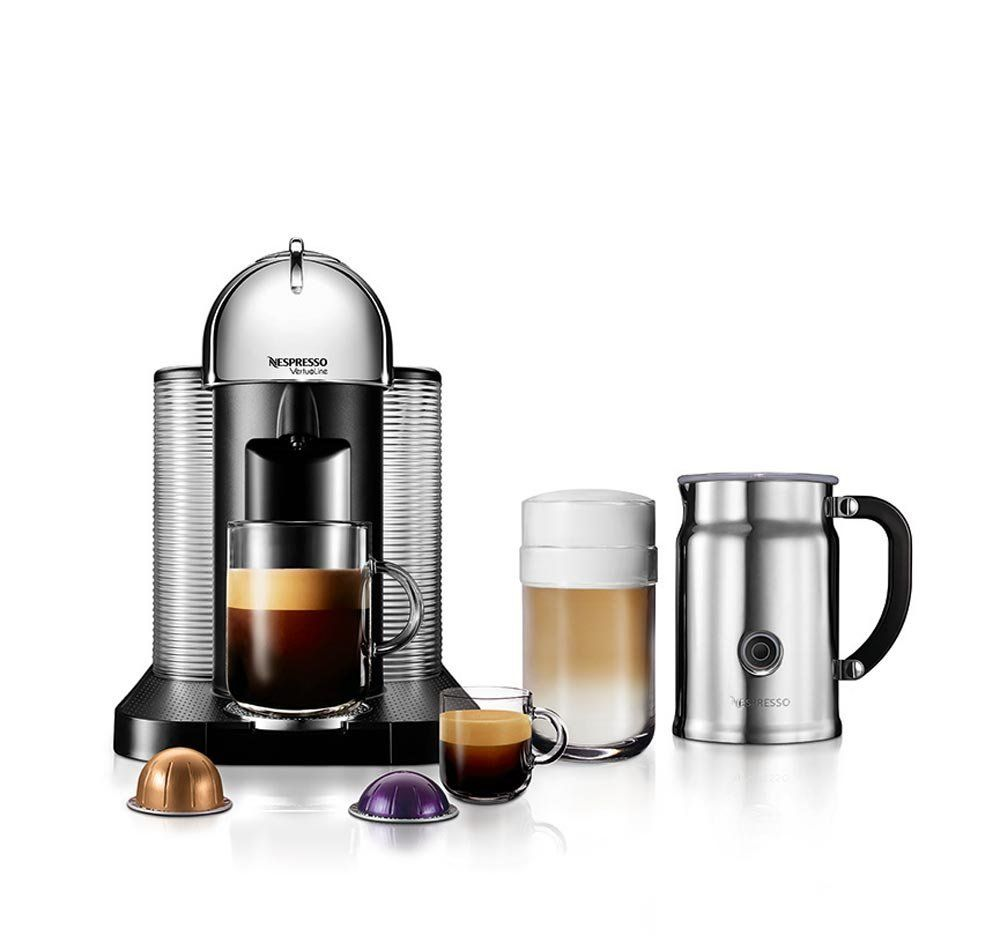 Nespresso A Gca1 Us Ch Ne Vertuoline Coffee And Espresso Maker