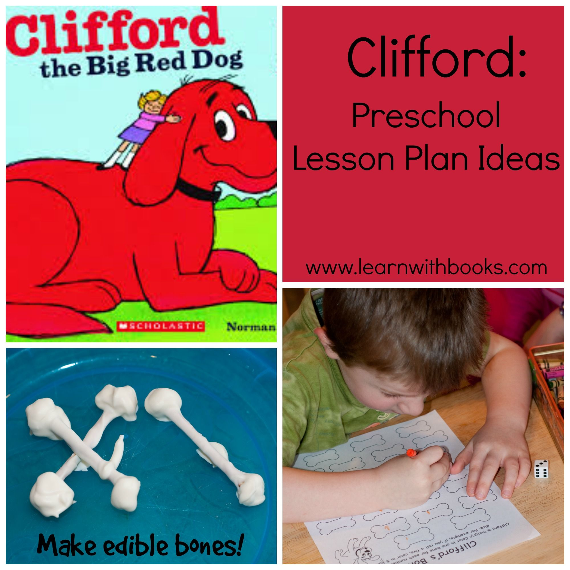 clifford the big red dog craft ideas with clifford preschool lesson plan ideas 8014