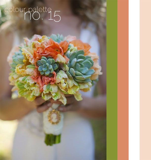 Colour Palette No. 15: Sage Green + Coral + Soft Pink | Guest ...