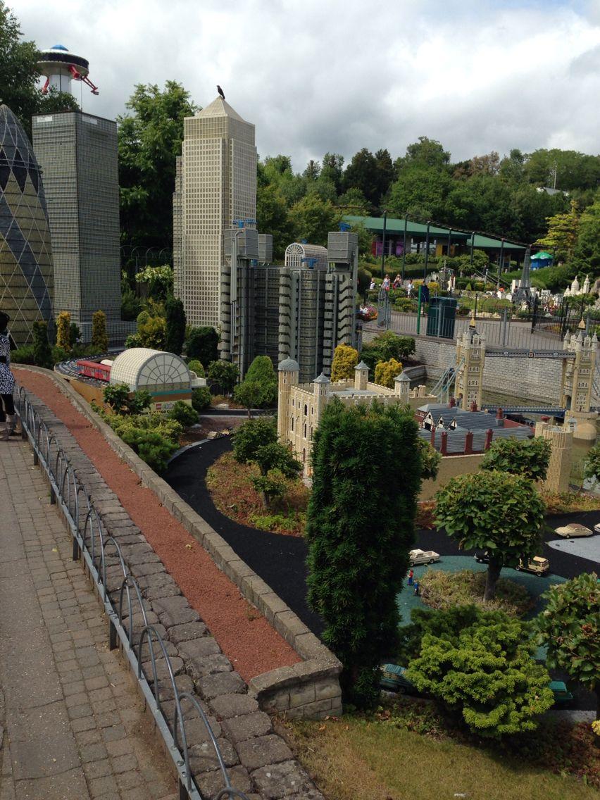 Legoland mini village (With images) | Legoland