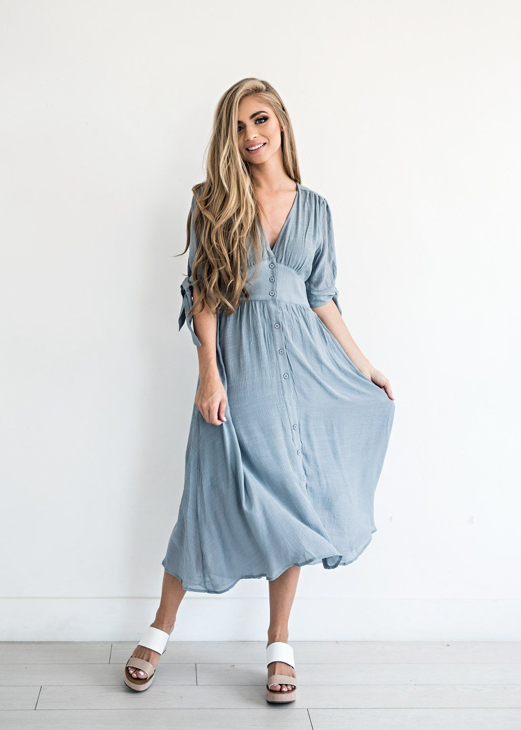 Lucerne wind button down dress dresses pinterest classy dress